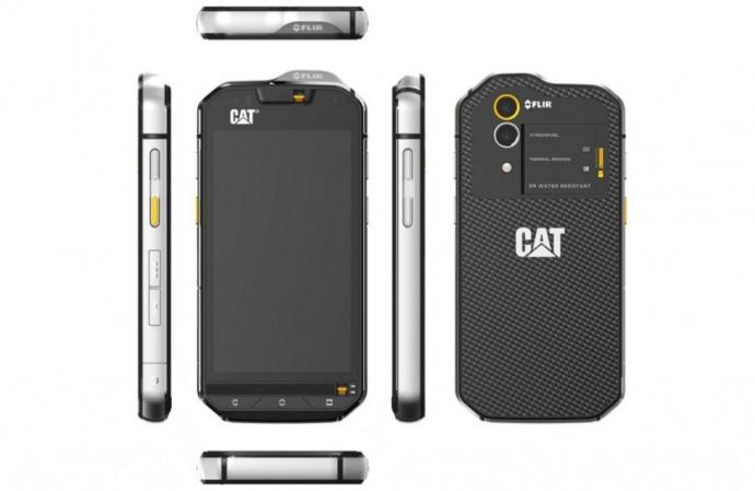 CAT выпустила первый смартфон, оснащенный термальной камерой: опубликованы фото (1)