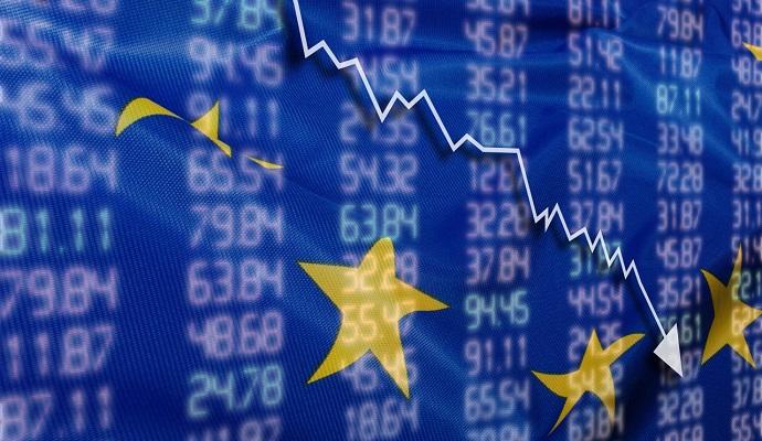 Европейские акции начинают год с худшими показателями за все время