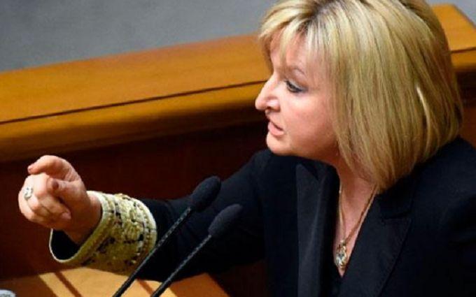 """""""Бляяяя!"""": Луценко выругалась с трибуны Верховной Рады"""