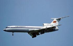 В России назвали предварительную причину катастрофы военного самолета Ту-154