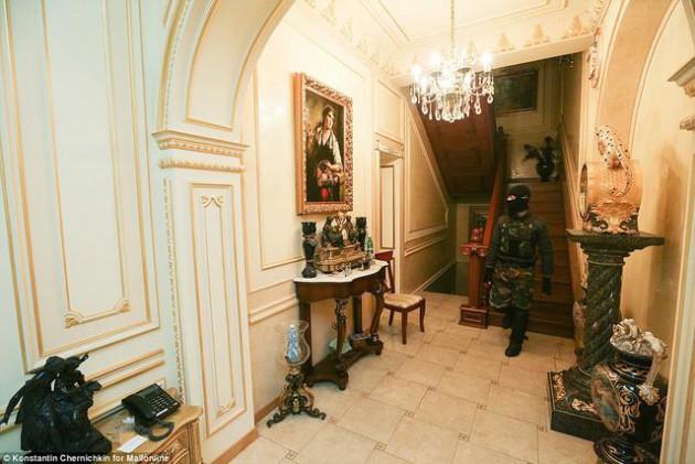На Западе появились впечатляющие фото разграбленного дворца Пшонки (9)
