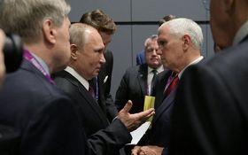 Мы все знаем: Пенс выдвинул громкое обвинение Путину при личной встрече