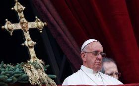 Папа Римский в пасхальном обращении вспомнил об Украине