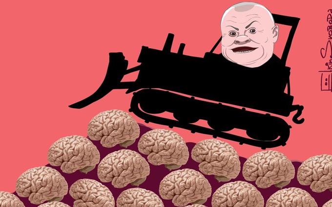 Популярний карикатурист жорстко висміяв головного пропагандиста Путіна (1)