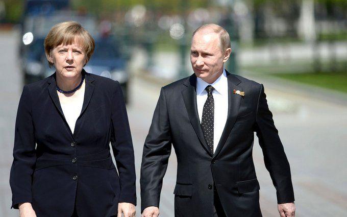 Незважаючи на всі проблеми: Меркель закликала Європу зберегти партнерство з путінською Росією