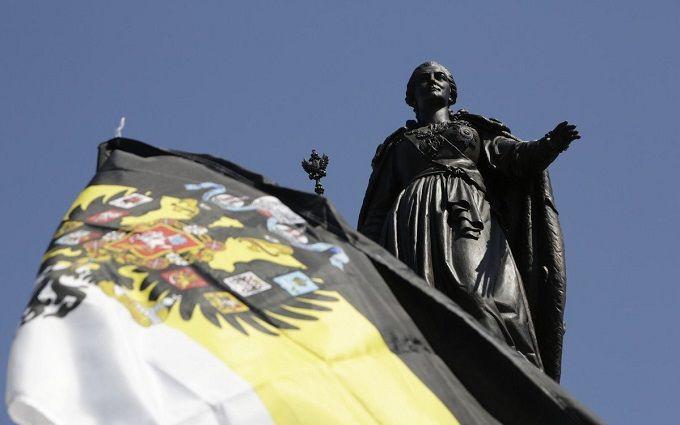 Окупанти відкрили в Криму імперський пам'ятник: опубліковані фото