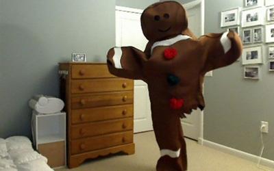Каждый Хэллоуин этот одноногий парень делает необычные костюмы и вот что он придумал в этом году (8 фото)