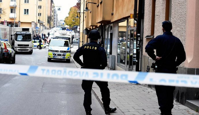 В одной из школ Швеции прогремел взрыв