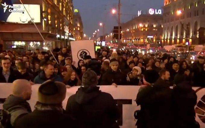 У Мінську люди вийшли на масові протести, соцмережі схвильовані: з'явилися фото і відео