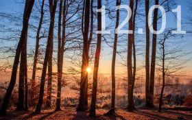 Прогноз погоды в Украине на 12 января