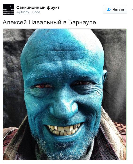 Соперника Путина залили зеленкой, сеть взбудоражена: появились фото и видео (10)