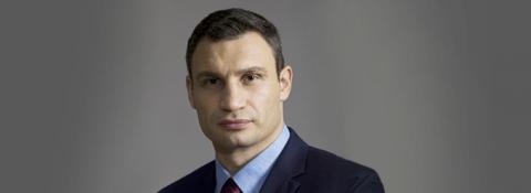"""Лідер партії """"УДАР"""" - Віталій Кличко"""