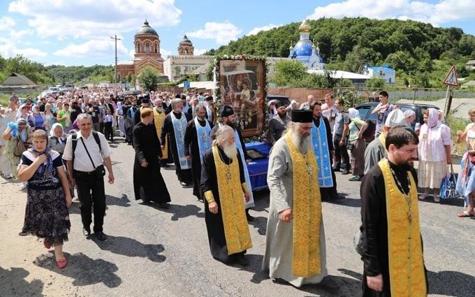 Деканоїдзе приїхала до учасників хресної ходи з пропозицією: з'явилося фото