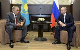 Назарбаев в беседе с Путиным сделал громкое заявление о Порошенко и Донбассе