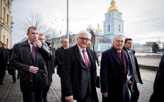 До Києва прибули посланці Меркель і Олланда: з'явилися подробиці