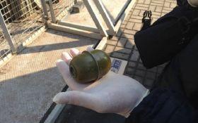 Акции в центре Киева: полиция показала фото опасной находки