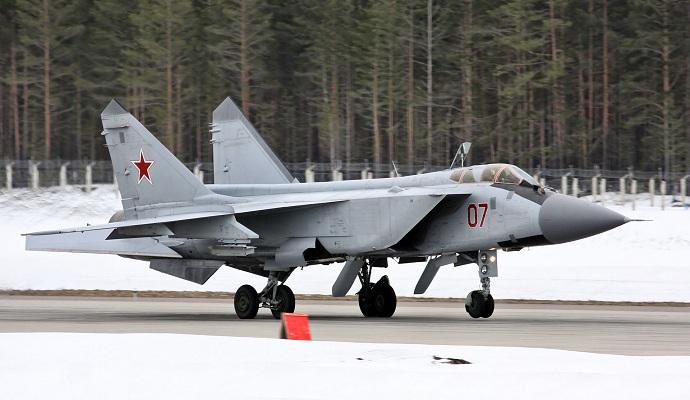 В РФ разбился истребитель МиГ-31