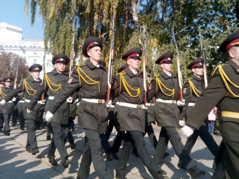 День захисника України в Житомирі відзначили урочистою ходою почесної варти (8 фото) (6)