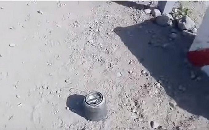 Боевики обстреляли пункт пропуска на Донбассе новыми российскими ракетами: опубликовано видео