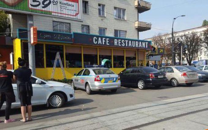 Стрілянина у Києві: опубліковані фото і відео з місця подій