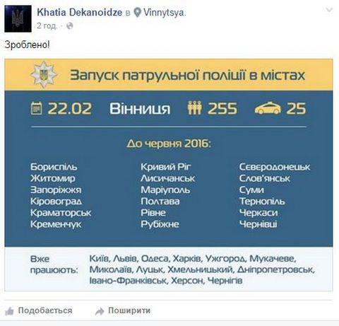 В Виннице запустили новую полицию: опубликованы фото и видео (1)