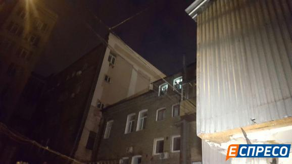 У центрі Києва влаштували вибух: з'явилися фото і відео (2)