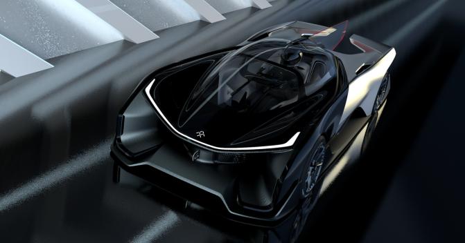 Faraday Future показала концепт своего спортивного электромобиля FFZERO1 (5 фото, видео) (3)