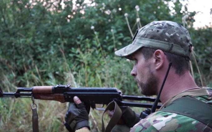 Війна на Донбасі: з'явилося відео з самого епіцентру бою