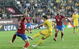 Гол на останній хвилині: Україна обіграла Чехію у Лізі націй
