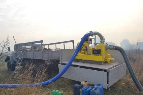 У Київській області горить 15 га торфовищ (6 фото) (2)