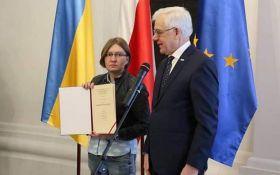За человеческое достоинство: глава МИД Польши вручил престижную награду семье Олега Сенцова