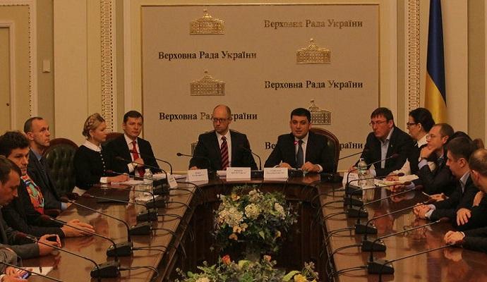 Гройсман соберет совет коалиции, чтобы обсудить роспуск правительства - нардеп