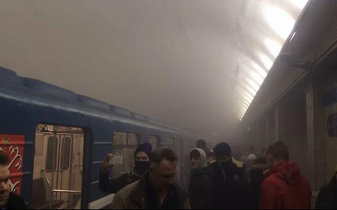 Взрыв в метро Санкт-Петербурга: появились новые подробности и видео