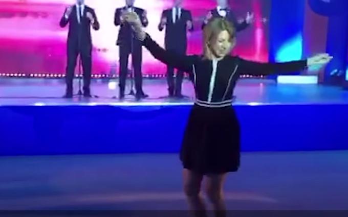 Танцюючу спікера путінського МЗС зробили героїнею комедії: опубліковане відео