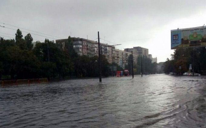 Одесу знову затопило: з'явилися фото