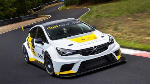 Opel анонсувала гоночний хетчбек Astra (9 фото) (1)