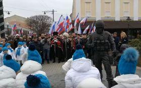 """""""Спасибо вежливым людям"""": сеть шокировало видео из оккупированного Крыма"""