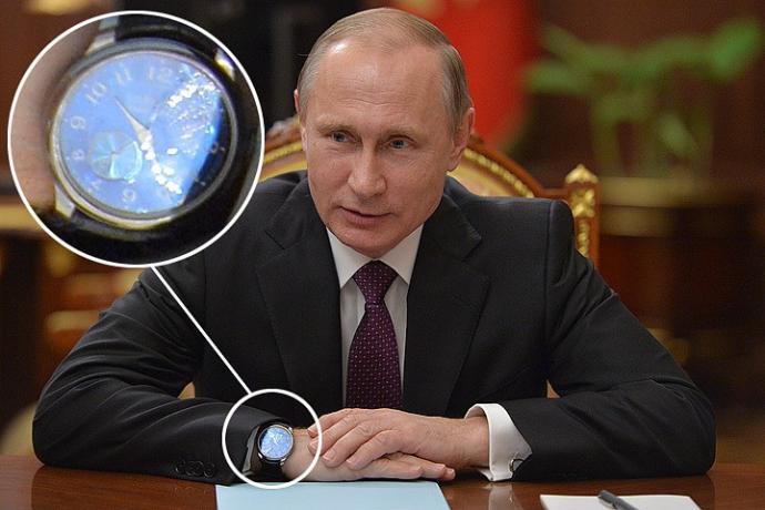 У Путина заметили новые очень дорогие часы: появились фото и видео (1)