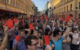 Пенсійна реформа в Росії: в Москві продовжують затримувати учасників пікетів