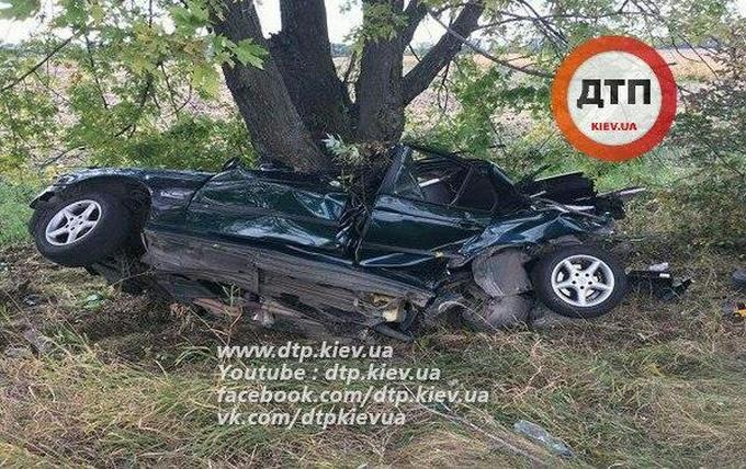 У страшній ДТП на Дніпропетровщині загинули чотири людини: опубліковані фото (1)