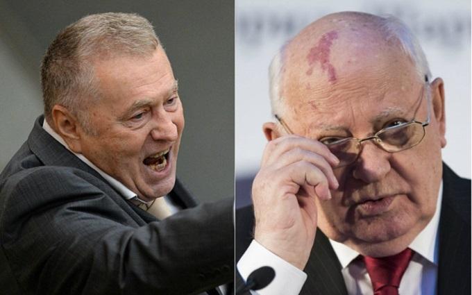 Партия Жириновского и Горбачев обменялись словесными ударами