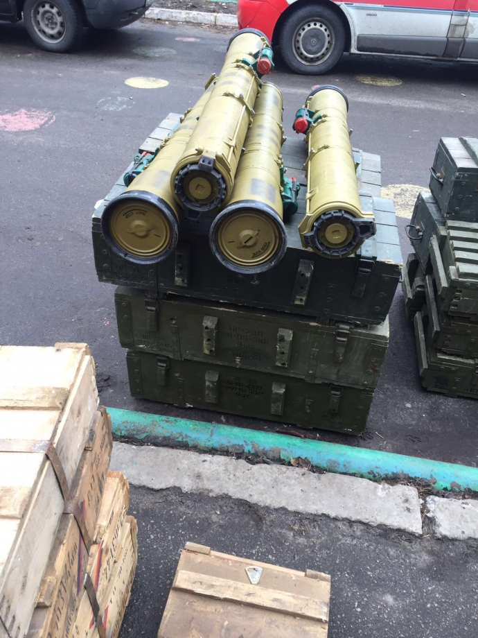 ГПУ изъяла в зоне АТО крупнейший арсенал оружия - опубликованы фото (1)
