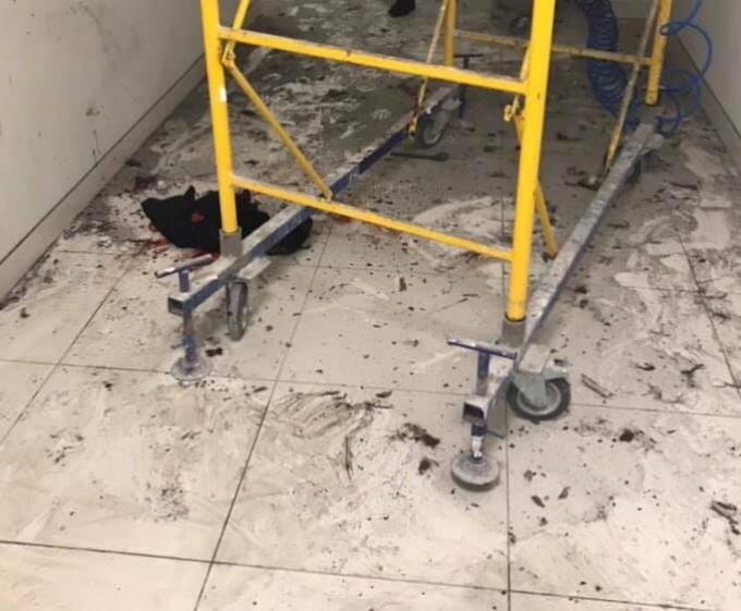 В торговом центре Киева произошел взрыв: фото с места происшествия (2)