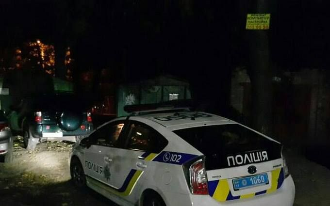 У Києві сталося вбивство: з'явилися фото і відео з місця подій