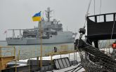 Військовий корабель НАТО прибув на допомогу Україні в порт Одеси: опубліковані фото