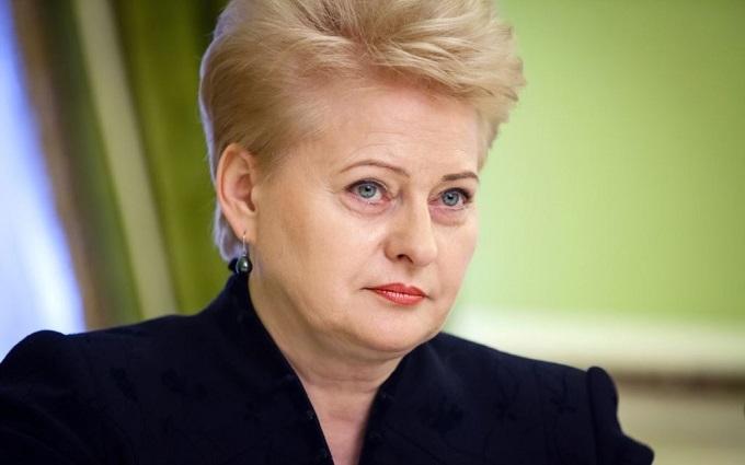 Президент Литви показово поставила на місце російських журналістів: опубліковано відео