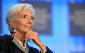 Глава МВФ занепокоїлася щодо порятунку України