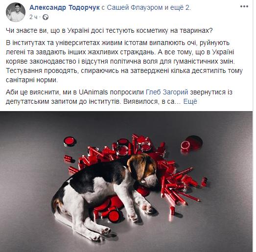 Жахливі страждання: зоозахисник розповів, як в Україні тестують косметику на тваринах (1)