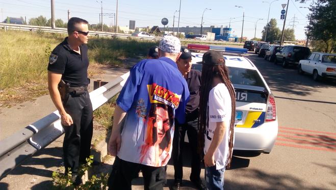 Поліція перервала запис кліпу відомої української групи: опубліковані фото і відео (1)