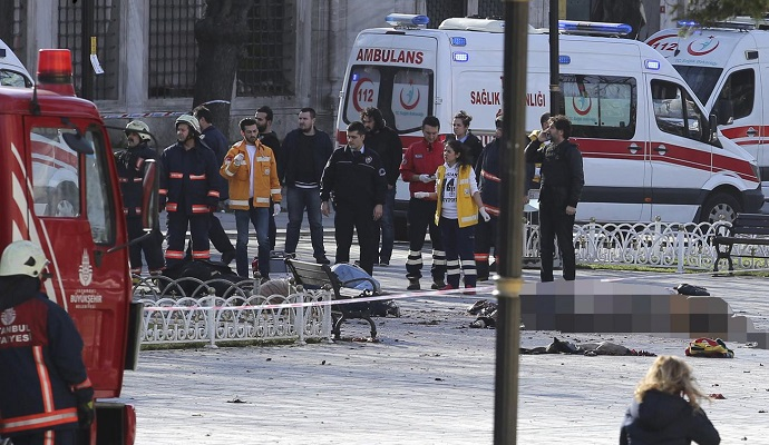 У центрі Стамбула пролунав вибух, є постраждалі